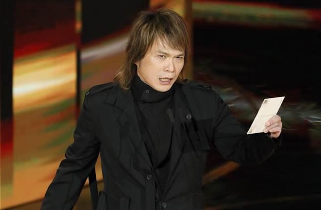 伍佰擔任金馬頒獎人,被網友推爆。(圖/影視攝影組攝)