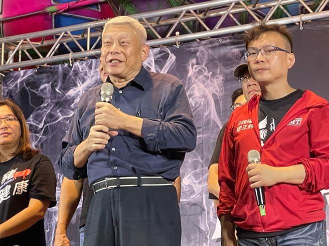 影》「反關台,讓人民站出來」開講 蔡衍明呼籲蔡政府用心對待台灣人