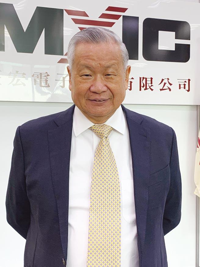 旺宏董事長吳敏求。圖/本報資料庫
