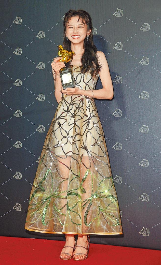 20歲的陳姸霏獲最佳新演員獎。