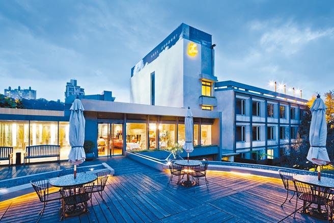 陽明山中國麗緻大飯店外觀雅緻,頗具度假氛圍。(陽明山中國麗緻大飯店提供)