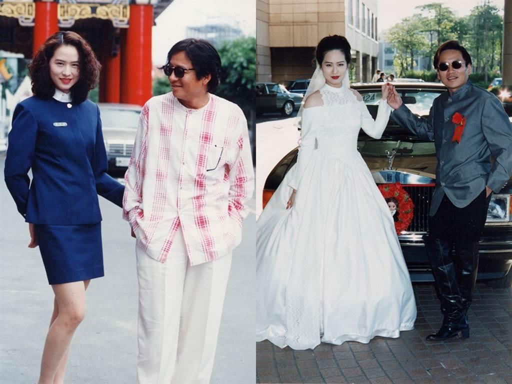 金友莊與高凌風結婚17年,解決不了雙方差異,只好分道揚鑣。(圖/中時資料照)