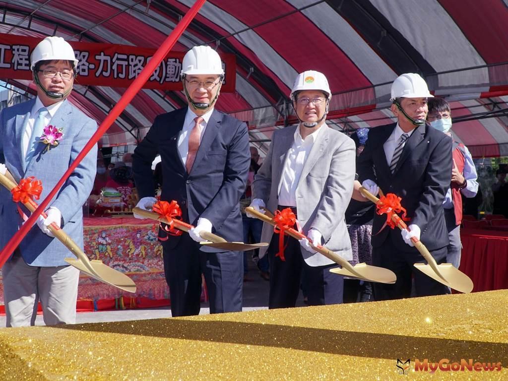 新竹縣高鐵橋下第三期預計2023年完工,竹北到竹科車程減少20分鐘(圖/新竹縣政府)
