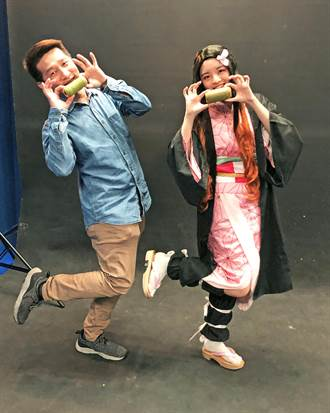「鬼滅」風吹進大學校園 科大烘焙學程學生做竹子麵包