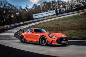 Mercedes-AMG GT Black Series拿下紐柏林最速冠軍寶座