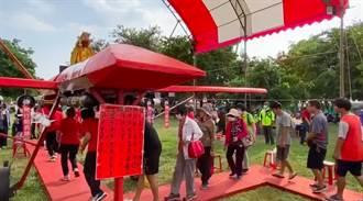 台灣航空工藝展 融入傳統信仰媽祖號起飛
