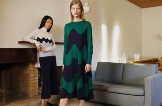 UNIQLO 4度聯名芬蘭時尚品牌推大膽印花冬裝 網路獨家贈限量托特包