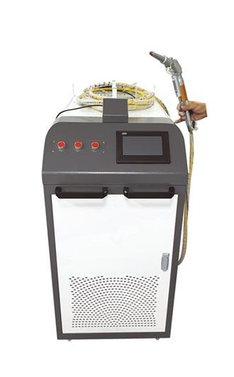 WC1000型手持式雷射金屬焊接機 燦晶搶進高功率市場