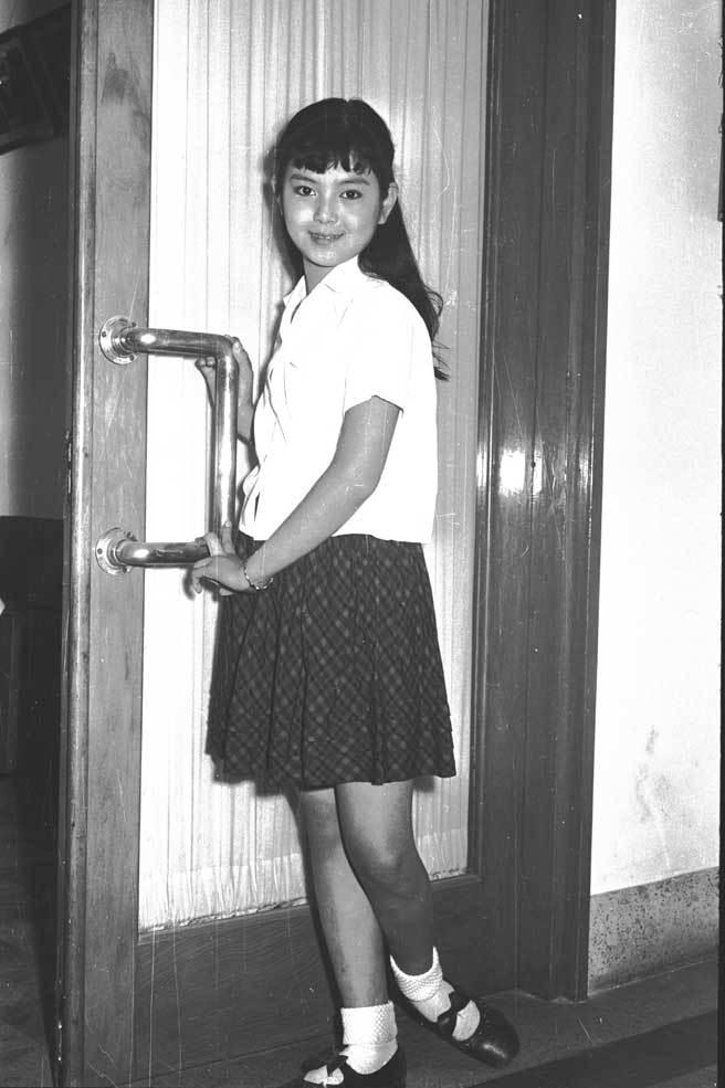 谢玲玲因演出《婉君表妹》大爆红,之后更成为初代琼瑶女郎。(中时资料照片)