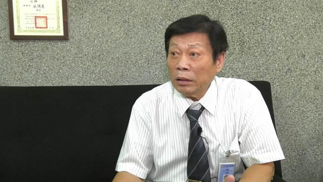 知名法医高大成(图/邱子轩摄)