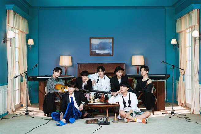 BTS出席2020 MAMA音樂大獎。(遠傳friDay音樂提供)