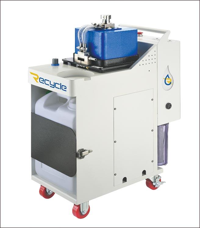 長泰精密「Recycle濾思可」CT-EX離心式三相分離機適合金屬加工、化工、餐飲、壓鑄、脫脂清洗及各種有廢油、乳化物、雜質處理需求之產業,歡迎有需求的廠商免費試機。圖/長泰精密提供