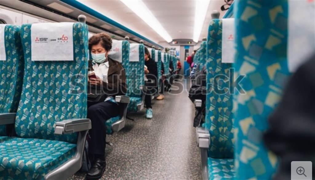 ICU急症醫師陳志金日前搭高鐵,看到民眾正確戴口罩,大讚「台灣人太令人尊敬了」。(達志影像/shutterstock)
