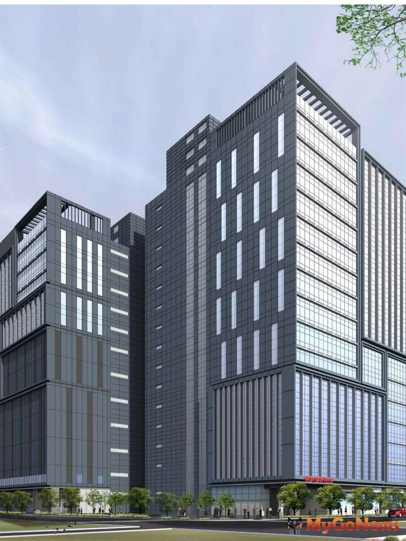 華南金土城廠辦大樓3D示意圖(圖/新北市政府)
