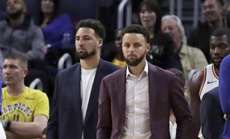 NBA》勇士湯普生受傷報銷 柯瑞難過落淚