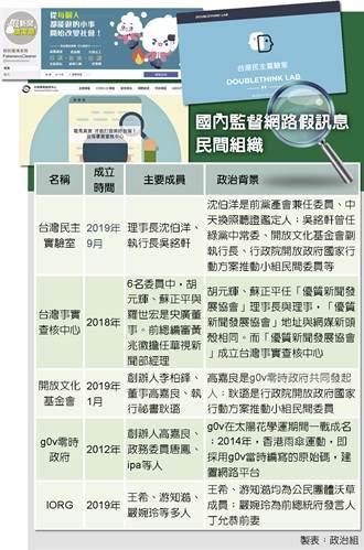 台灣模式打假 藍憂成政治工具