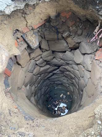 清化糞池意外發現古井 番路鄉要請專家鑑定