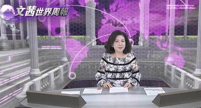 資深媒體人陳文茜。(圖/中天提供)