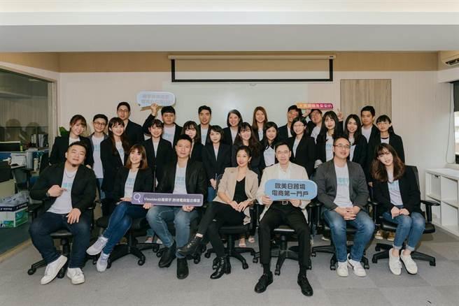 視宇團隊4年至今已成功協助台灣賣家賺進超過10億營業額。(視宇提供)