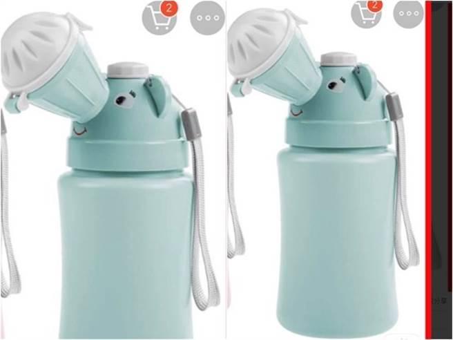 因為尿壺長得太像水壺,導致幼稚園老師讓孩子裝水喝。(圖/翻攝自臉書社團「爆怨2公社」)