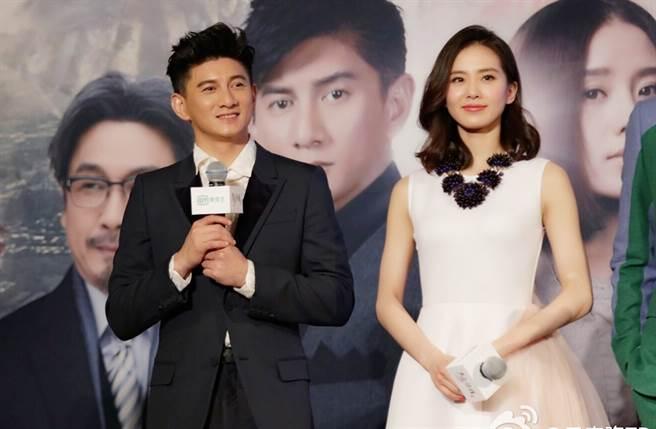 吳奇隆、劉詩詩結婚5年。(圖/翻攝自吳奇隆微博)