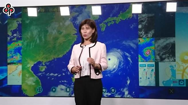 氣象局簡任技正伍婉華。(本報系資料照)