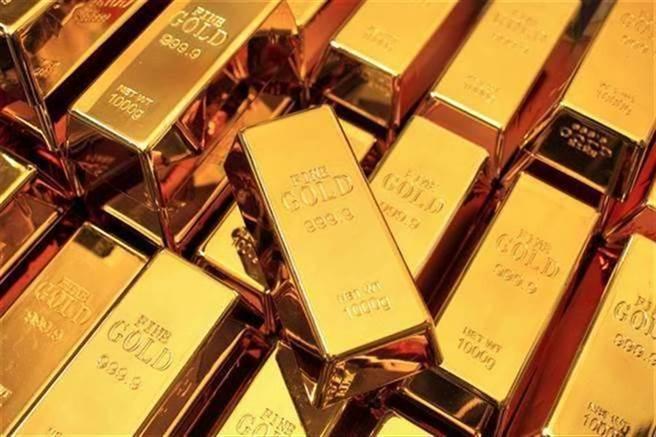 黃金價格大跌至7月來最低點。(圖/美聯社)
