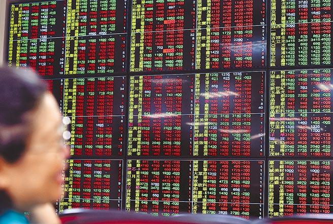 台股23日早盤大漲,半導體族群買氣強,中小型股也持續吸引資金進駐,加權指數終場上漲161.57點,收在13878.01點,成交值2349億元。(顏謙隆攝)