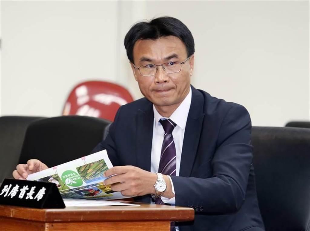 農委會主委陳吉仲指出日本2005年就開始進口萊豬,遭網友嗆「那你8年前反個屁」 (圖/本報資料照)