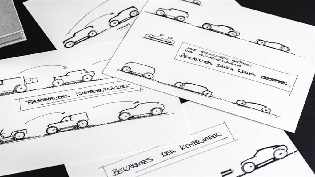 Porsche Unseen再釋出一些私藏概念車 首席設計師描述未來的設計方向