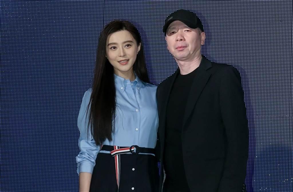 范冰冰2016年與導演馮小剛來台出席金馬影展。(本報系資料照)