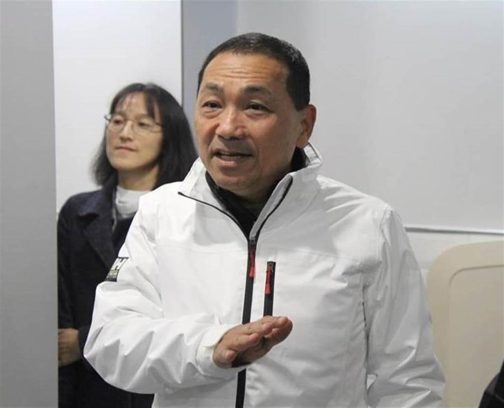 新北市長侯友宜。(本報資料照,譚宇哲攝)
