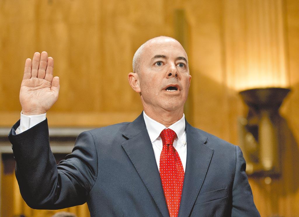美國國土安全部長馬約卡斯。(美聯社)