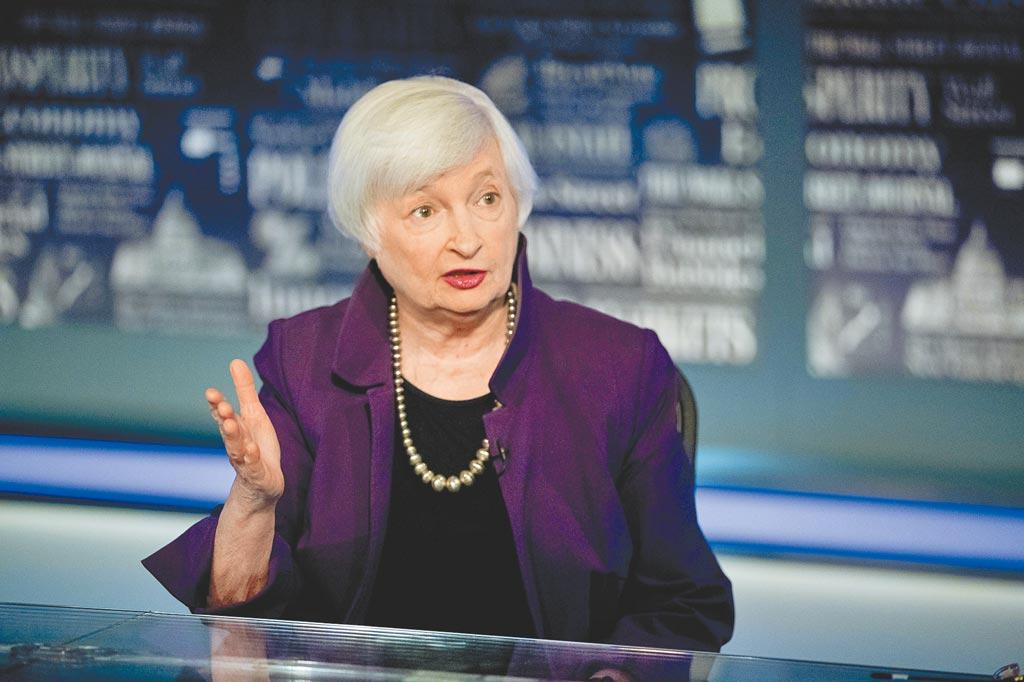 葉倫可望成為首位女財政部長。(美聯社)
