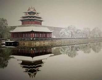 北京下雪成北平 故宮下雪成橫店?