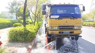 水情嚴峻 南市全面用回收水洗街提升空品