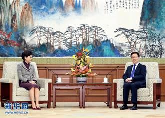 林鄭施政報告 大篇幅讚國安法:非中央出手不可