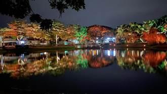 月津港燈節奠定「最美水岸」打造24節氣意象夜間照明