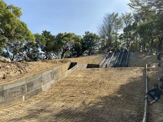 營造山腳休憩區 苑裡改善公園設施、建步道