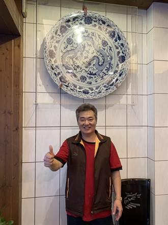 元朝青花瓷守護者 不僅是餐廳大廚也是古物研究員