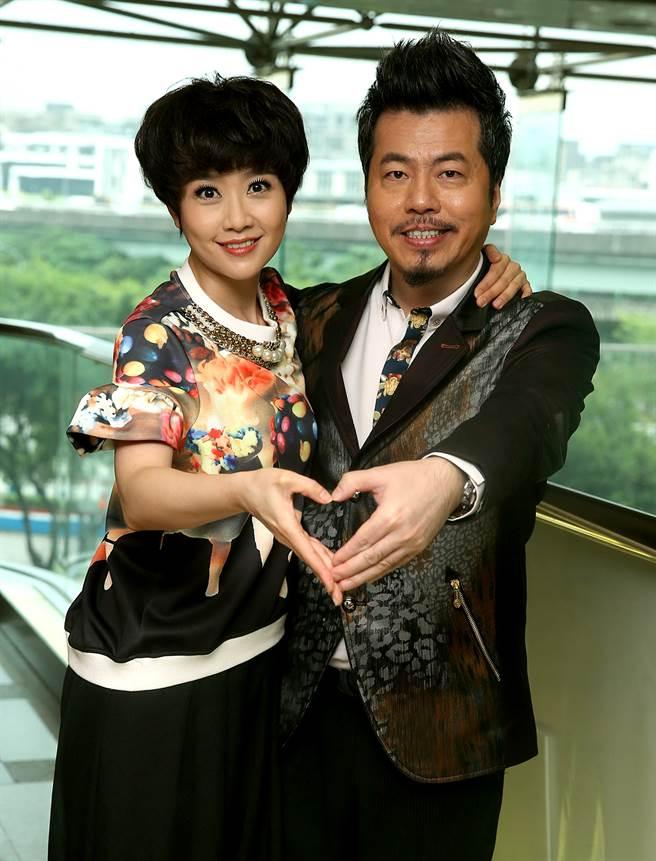 黃國倫忘了結婚紀念日惹怒寇乃馨。(圖/中時資料照)