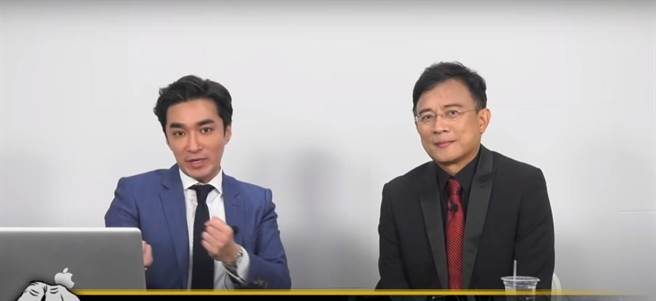 彭文正登上王又正的網路節目,爆出當年政論節目遭關閉時的內幕,直指中天關台也是總統府的命令。(圖/翻攝自正常發揮 YouTube)