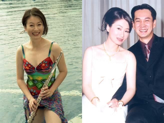 趙英華是音樂才女,後嫁給圈外老公息影。(圖/中時資料照)