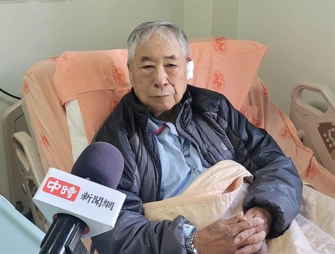 前「氣象主播」李富城罹患基底細胞癌,術後接受《中時新聞網》獨家訪問親曝現況。(照片/游定剛 拍攝)