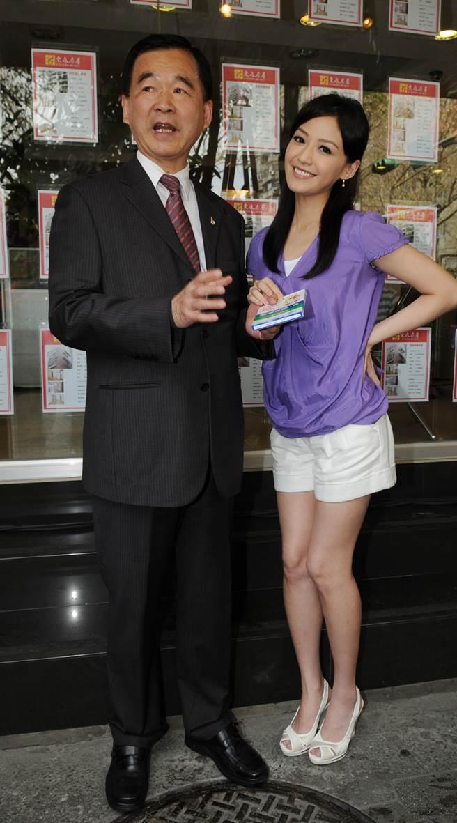 王應傑與王怡仁父女感情好。(本報系資料照)