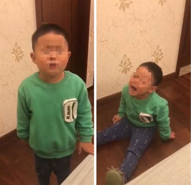拒绝跟父一起睡 小男孩怨「爸爸丑」 妈无言:你们长一样(图片取自/kwongwah)