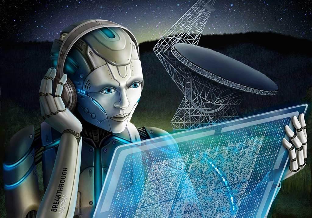 說不定哇信號是外星人不小心透露的一組電波,他們不打算被我們找到。(圖/SETI)