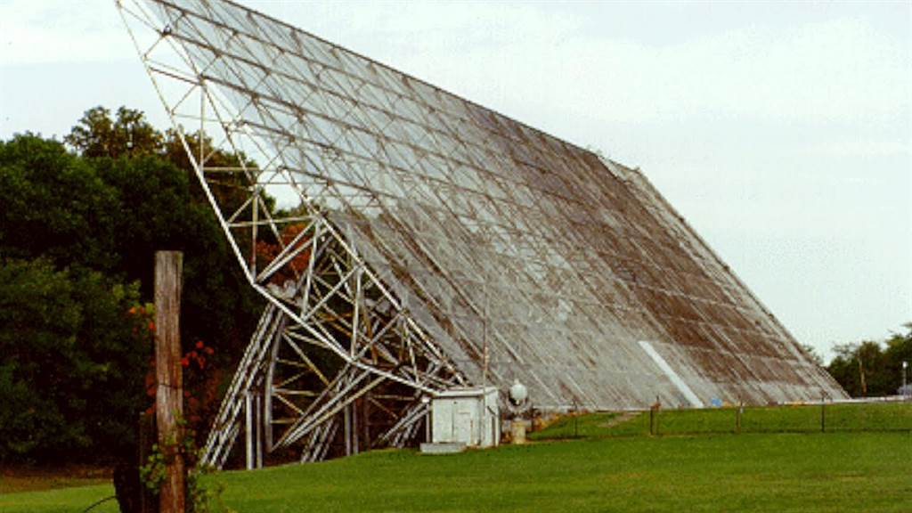 發現「哇!訊號」的俄亥俄州立大學電波望遠鏡「大耳朵」,它於1998年被拆除。(圖/SETI)