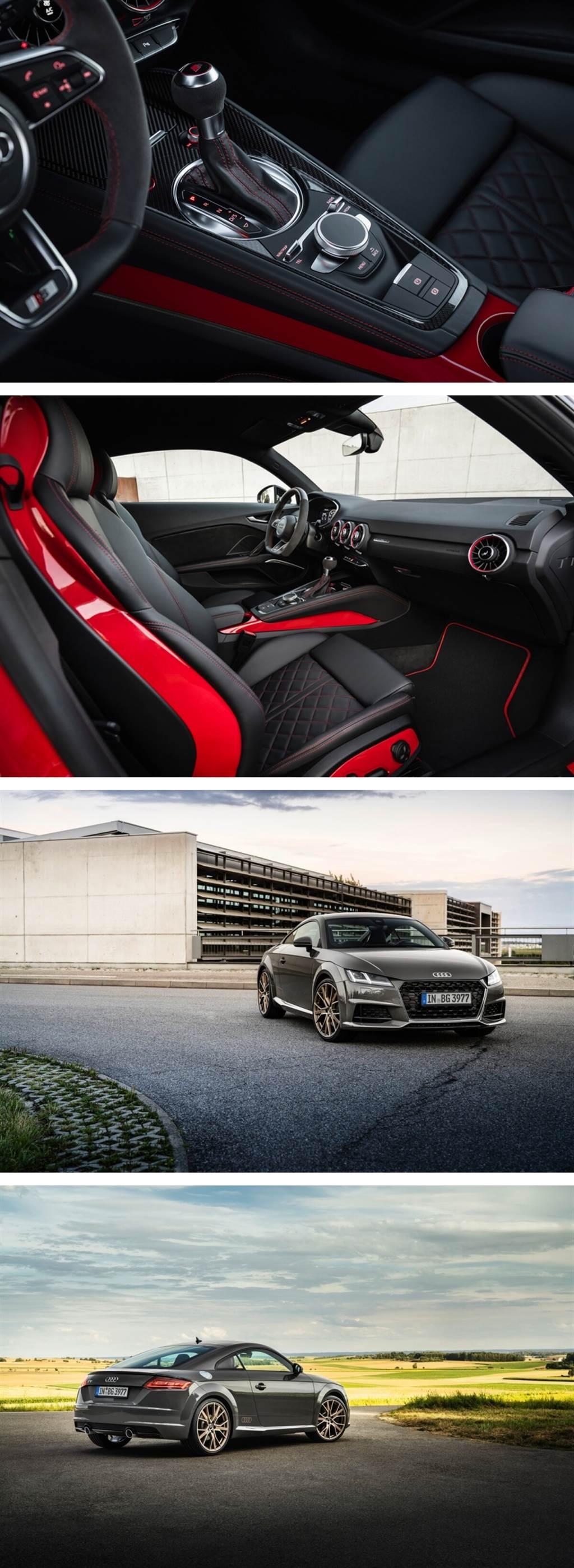 運動與優雅完美結合!Audi TT推出competition plus與Bronze selection特仕款