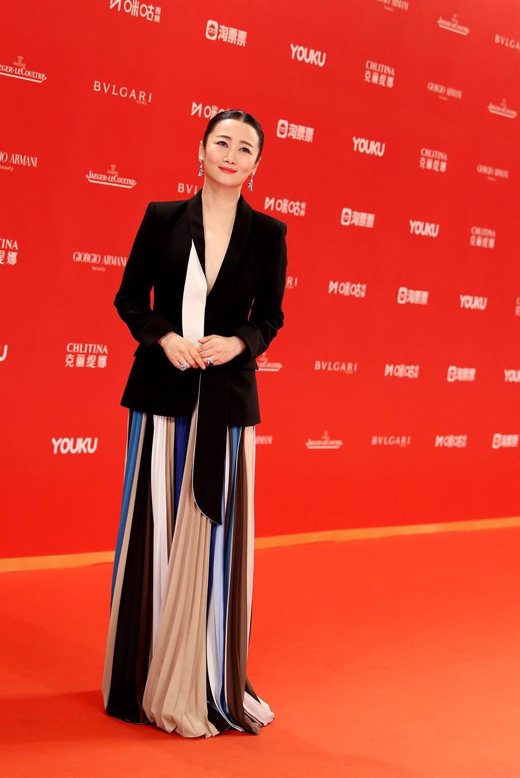 赵涛是唯一华人演员入围。(新华社)